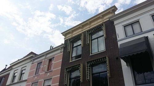 Leiden In Stijl Korte Galgewater 3 woonhuis en studio Theo van Doesbug foto Wilma Lankhorst