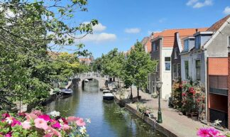Muurgedichten Leiden De Vliet © foto Wilma_Lankhorst.