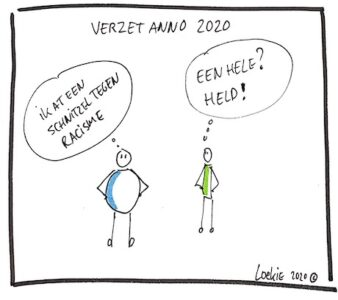 Zaterdagmiddag cartoon