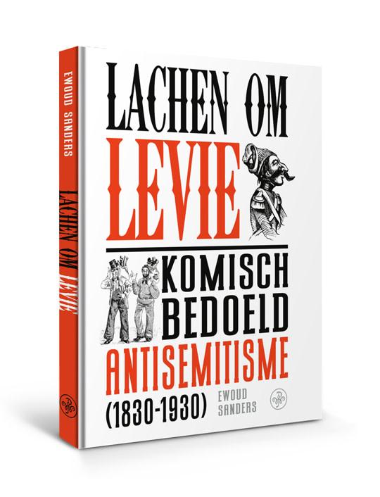 © Walburg Pers Boekomslag Lachen om Levie van Ewoud Sanders