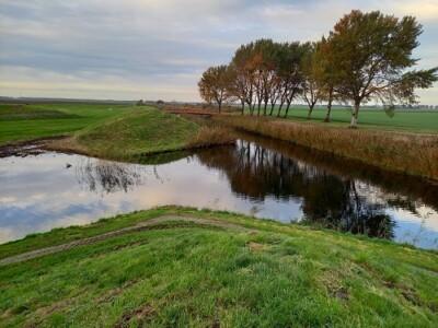 Land art Flevoland Aardzee (detail) Piet Slegers foto: Krina van der Drift