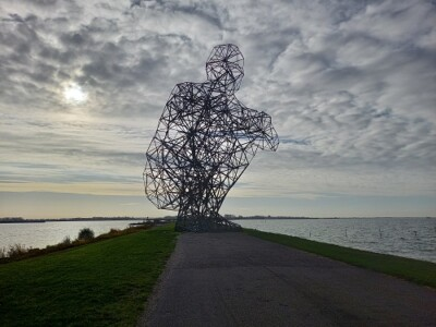 Exposure Antony Gormley foto: Krina van der Drift