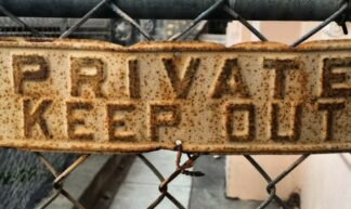 Private Keep Out.  Downtown #sanjose - Richard Masoner / Cyclelicious