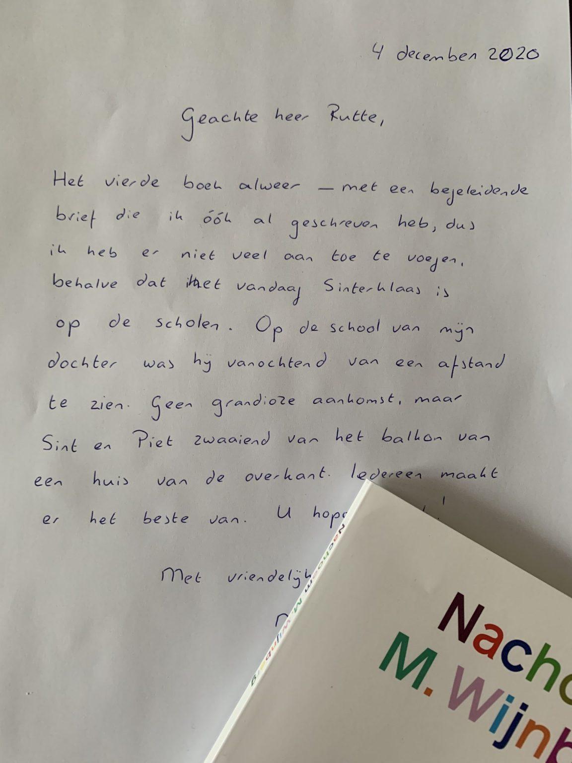 © Marc van Oostendorp brief aan Rutte antisemitisme aan de Rechtenfaculteit