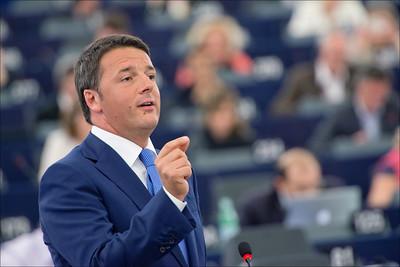 © European Union 2014 - European Parliament Matteo Renzi Italië