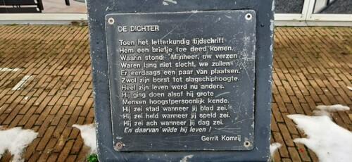 poëzierondje_in_Doetinchem De dichter gedicht © Gerrit Komrij © foto Wilma_Lankhorst