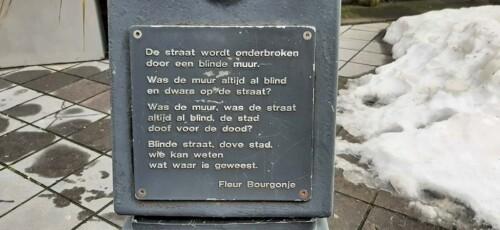 poëzierondje_in_Doetinchem_De straat gedicht © Fleur Bourgonje © foto Wilma_Lankhorst