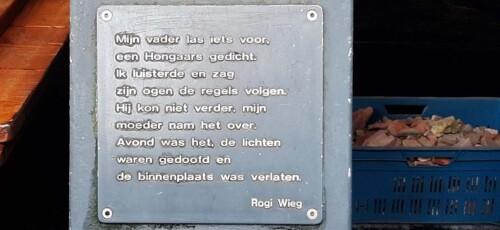 poëzierondje in Doetinchem Mijn vader las iets voor gedicht © Rogi Wieg © Wilma_Lankhorst