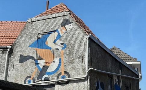 Blind Walls Gallery Fieten en paarden © Ilse Weisfelt © foto Wilma Lankhorst