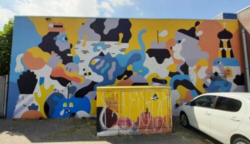Blind Walls Gallery Heden vs verleden © Hedo #18 © foto Wilma Lankhorst