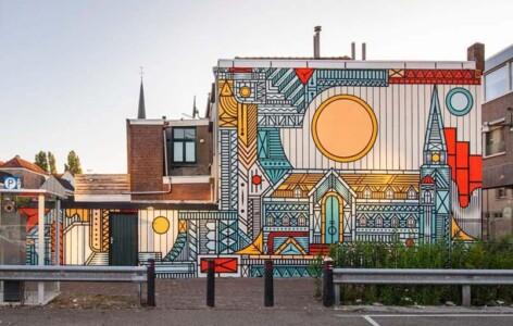 Blind Walls Gallery Maria Hemelvaartkerk #105 © Isakov © foto Wilma Lankhorst