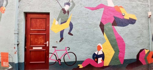 Blind Walls Gallery St. Joris en de draak © Studio Kratje © foto Wilma Lankhorst
