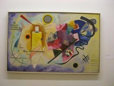 cc Flickr Joao Araujo photostream Pompidou - Kandinsky CC BY-SA 2.0 synesthesie