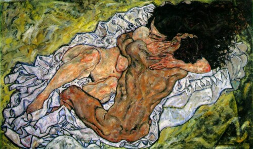 Flickr Père Ubu Egon Schiele- Embrace (Lovers II) 1917 CC BY-NC 2.0