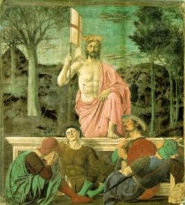 Flickr jwyg Resurrection by Piero della Francesca. CC BY-SA 2.0