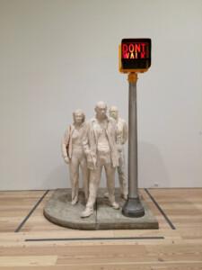 Flickr Jack Szwergold A cool George Segal sculpture—Walk, Don't Walk 1976 CC BY-NC 2.0 lopen