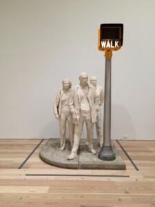 Flickr Jack Szwergold A cool George Segal sculpture—Walk, Don't Walk 1976 CC BY-NC 2.0 afbeelding 2