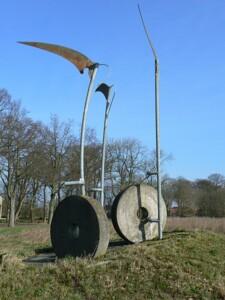 Gerardus, Public domain, via Wikimedia Commons Sculpture in Vriescheloo 01 honger