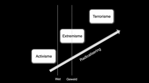 © Studium Generale Utrecht Grafiek radicalisering. prof. Kees van den Bos 2021
