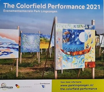 Colorfields Performance infobord © foto Wilma Lankhorst