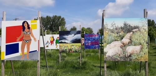 Colorfields Performance land art sfeerbeeld 3 © foto Wilma Lankhorst