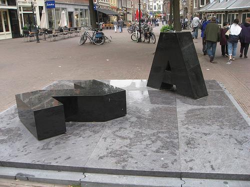 cc commons.wikimedia.org AZ Oude Groenmarkt Haarlem
