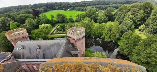 Schloss_Moyland uitzicht vanaf de noordtoren © foto Wilma_Lankhorst.