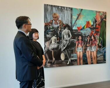 Chae_Eun_Rhee opening tentoonstelling Museum de Fundatie © Wilma Lankhorst