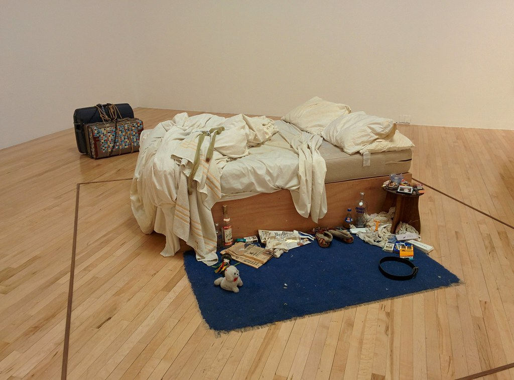 Flickr fry_theonly My bed (Tracey Emin) CC BY-SA 2.0