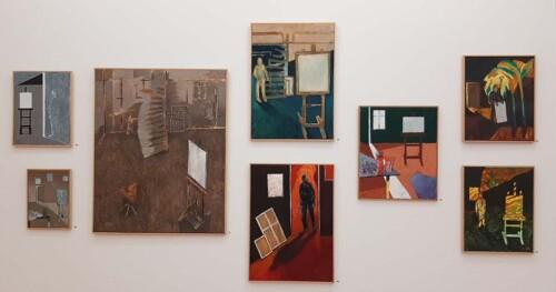 Jeroen_Krabbe_Stilte impressie Mijn atelier in lockdown (2020-2021) © foto Wilma Lankhorst
